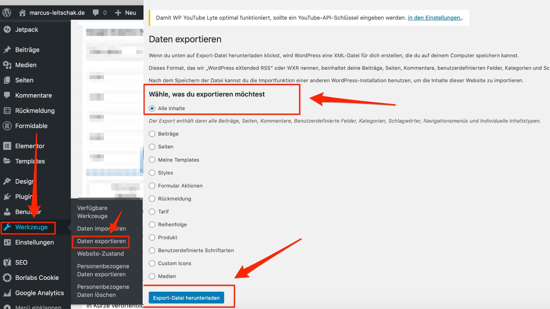 Wordpress Sicherung - SO SICHERST DU DEINE WEBSEITE KOSTENLOS!