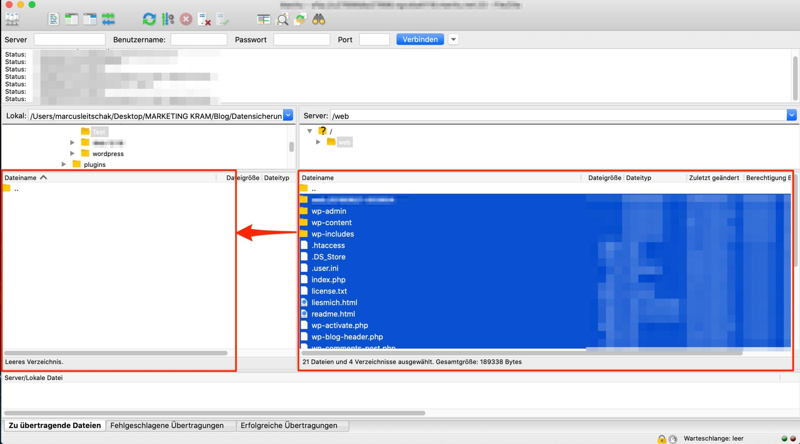 Datensicherung WordPress - SO SICHERST DU DEINE WEBSEITE KOSTENLOS!