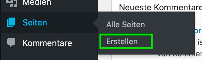 Backend - DIESE DÜRFEN NICHT FEHLEN!