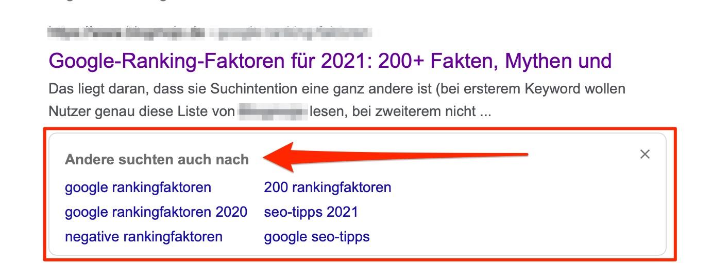 Zurück zu den Suchergebnissen - EIN NUTZERSIGNAL FÜR DEIN SEO!